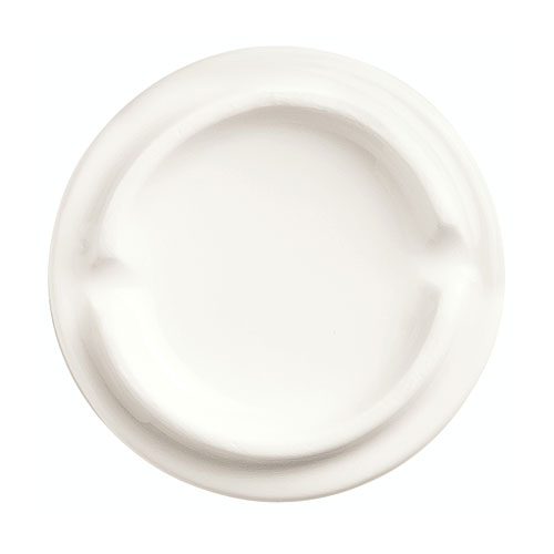 World Tableware BW-6714 2-1/2-oz Chef's Selection Oval Monorail Bowl - Porcelain, Ultra Bright White