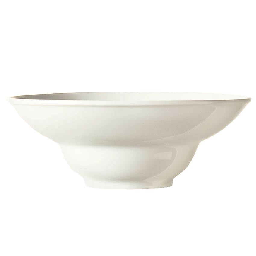 "World Tableware BW-8100 8"" Round Porcelain Bowl w/ 7-oz Capacity & Wide Rim, Sea Bright, Basics"