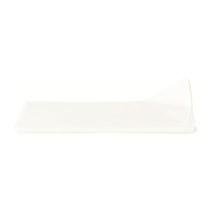 "World Tableware BW-8174 4"" Handled Porcelain Chef Select Tile, Basics Collection"