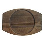 "World Tableware CIS-15TR 7.875"" Round Trivet, Wood"
