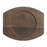"World Tableware CIS-17TR 8.5"" Round Trivet, Wood"