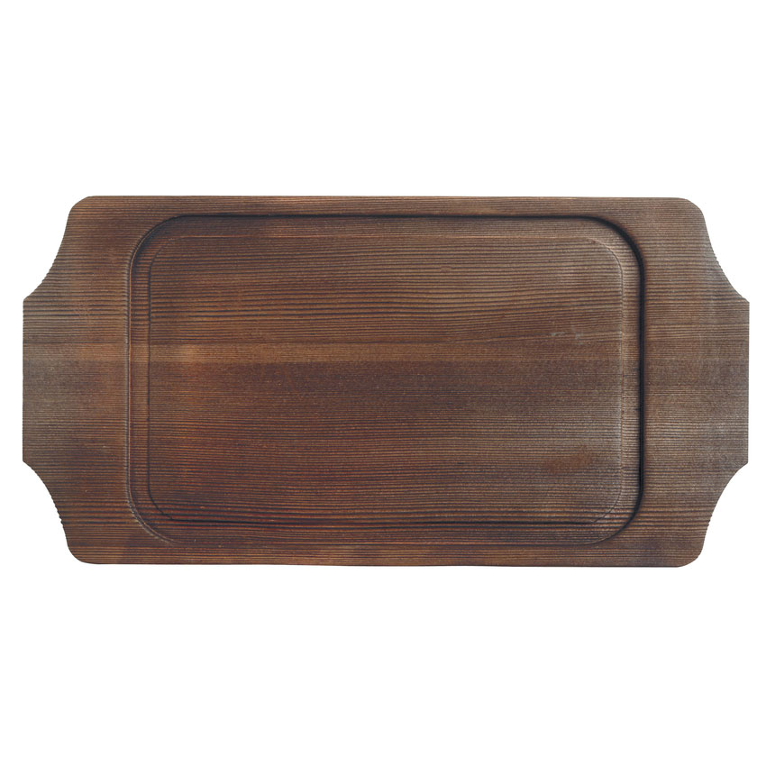 "World Tableware CIS-19TR 14.125"" Rectangular Trivet, Wood"