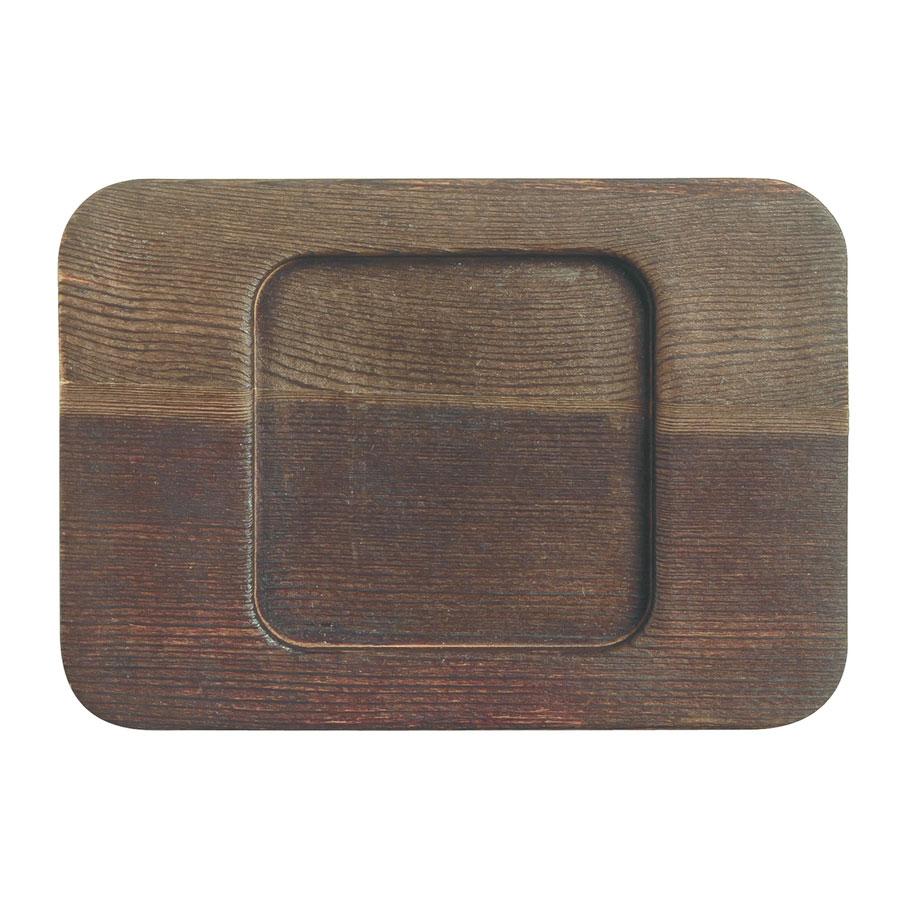 "World Tableware CIS-26TR 5.5"" Square Trivet, Wood"