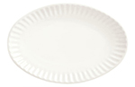 "World Tableware CO-15 8.25"" Oval Platter, Bright White"