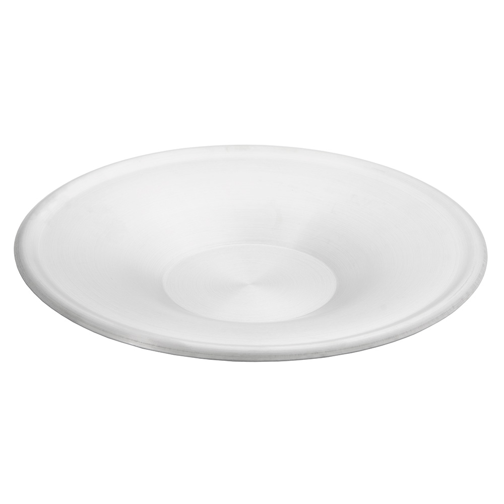 """World Tableware CS100 5-3/4"""" Cappuccino Saucer - 18/8 Stainless"""