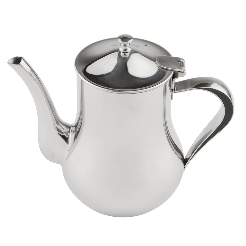 World Tableware CT-819 35-oz Belle Coffee Pot - 18/8 Stainless
