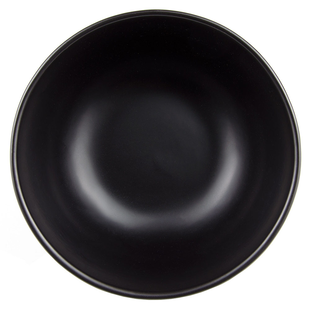 "World Tableware DRI-10-O 5.5"" Driftstone Bowl w/ 26-oz Capacity - Porcelain, Onyx"
