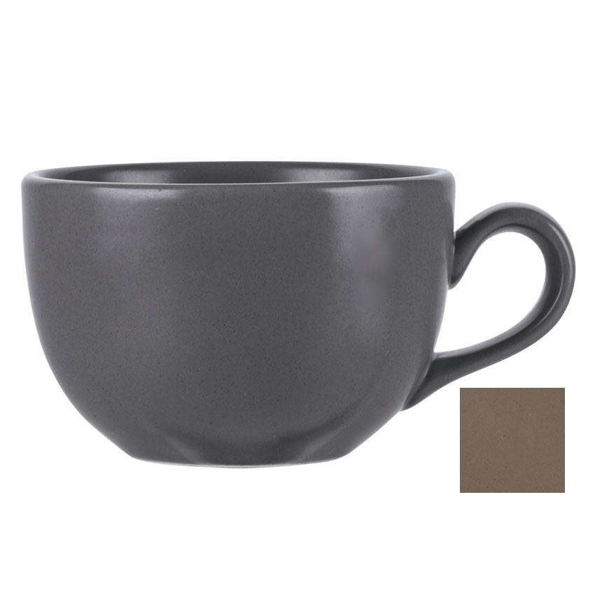 World Tableware DRI-12-S 7.75-oz Driftstone Cup - Porcelain, Sand
