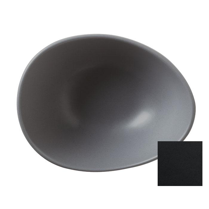 "World Tableware DRI-5-O 4"" Driftstone Bowl w/ 3.75-oz Capacity - Porcelain, Onyx"