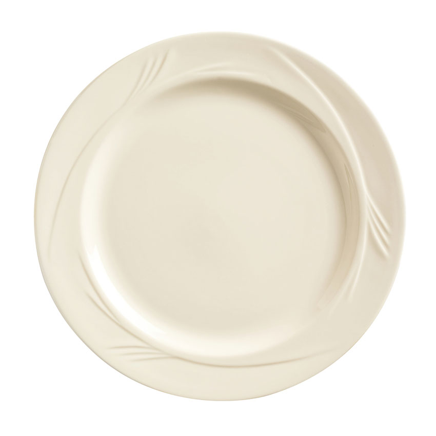 "World Tableware END-11 11.25"" Porcelain Plate, Porcelana, Endurance"