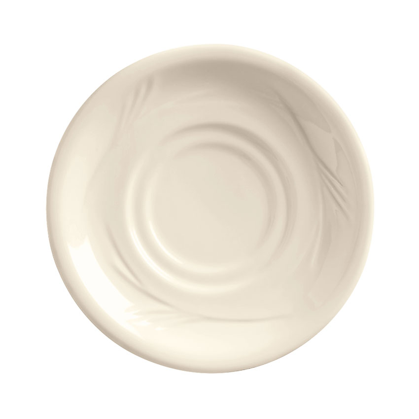 "World Tableware END-15 5.5"" Porcelain Saucer, Porcelana, Endurance"