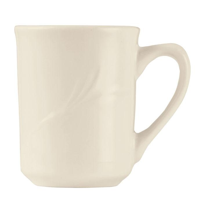 World Tableware END-1 8.5-oz Porcelain Mug, Porcelana, Endurance