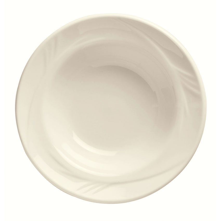 "World Tableware END-22 6.37"" Porcelain Grapefruit Bowl w/ 16-oz Capacity, Porcelana, Endurance"