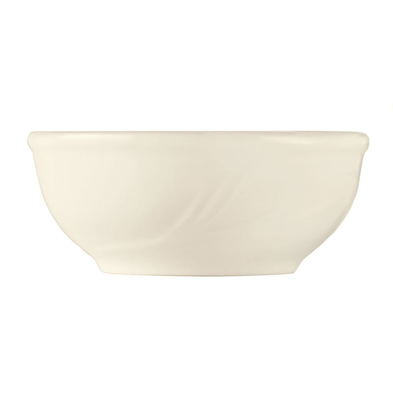 "World Tableware END-23 5"" Round Porcelain Oatmeal Bowl w/ 10-oz Capacity, Porcelana, Endurance"