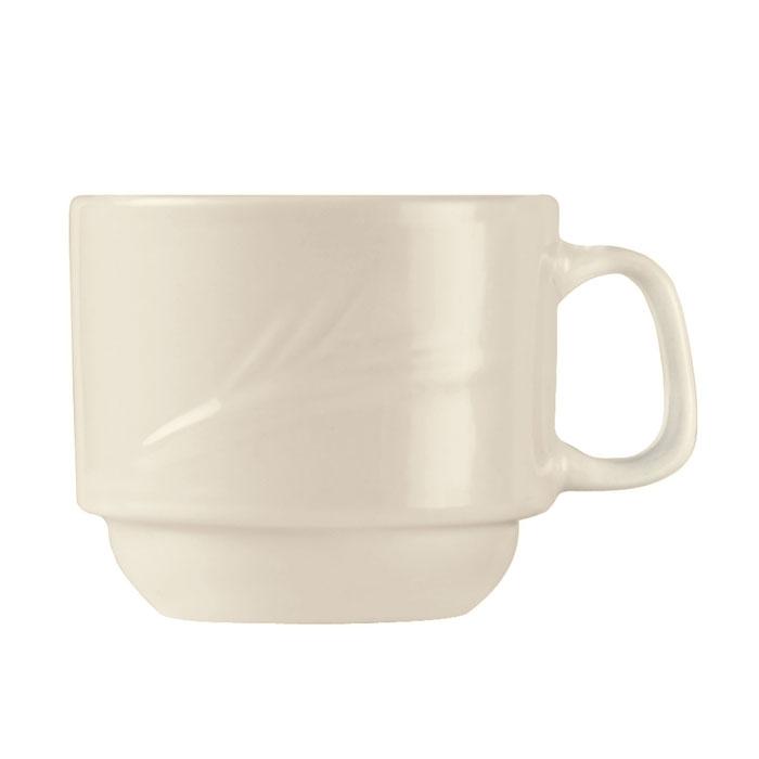 World Tableware END-4 7-oz Porcelain Stacking Cup, Porcelana, Endurance