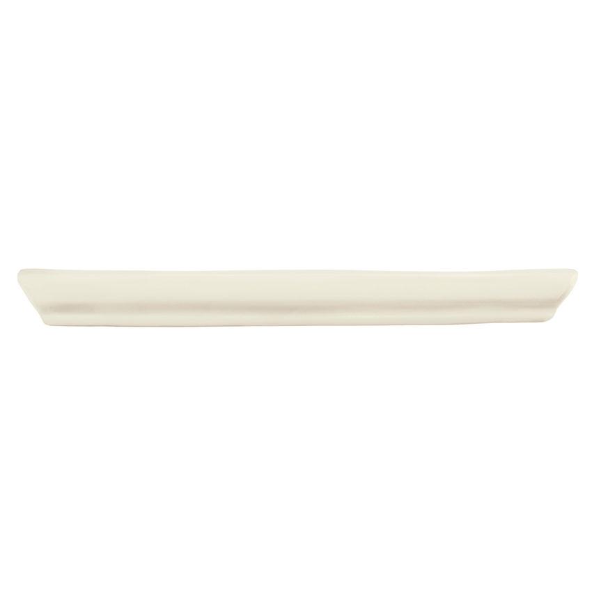 "World Tableware FH-1010 Farmhouse 10"" Square Tray - Porcelain, Cream White"