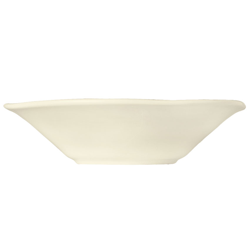 "World Tableware FH-513 6-1/2"" Grapefruit Bowl, Ceramic, Cream White, 12 oz"
