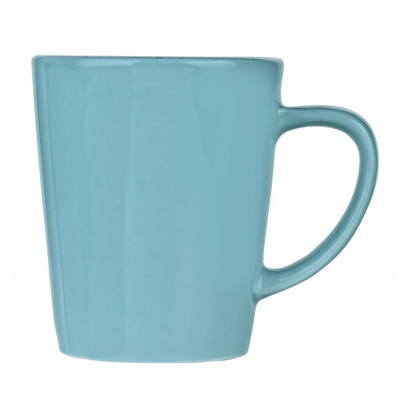 World Tableware FH-517H 12-oz Porcelain Mug - Blue Hen