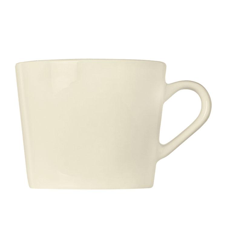 "World Tableware FH-518 9-oz Cup - Ceramic, Cream White, 3"" H"