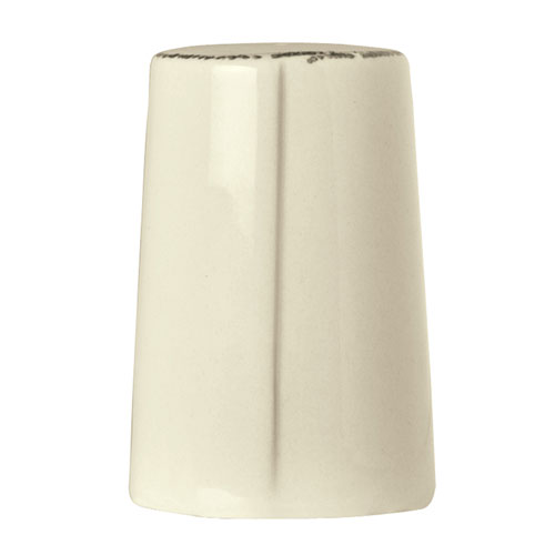 "World Tableware FH-520 3"" Salt Shaker - Ceramic, Cream White"