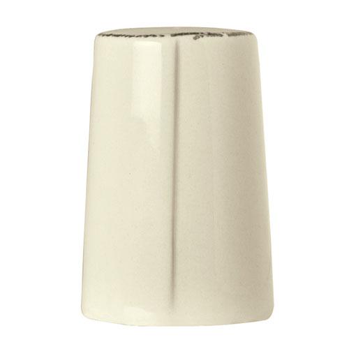 """World Tableware FH-521 3"""" Pepper Shaker - Ceramic, Cream White"""