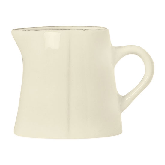 "World Tableware FH-522 3-oz Creamer - Ceramic, Cream White, 2-1/2"" H"