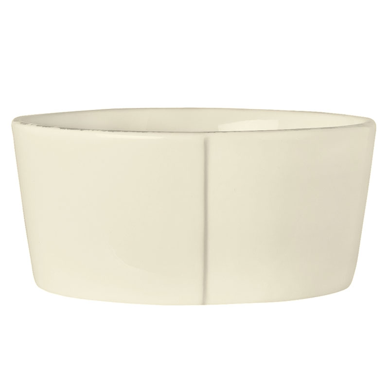 "World Tableware FH-523 5"" Oatmeal Bowl - Ceramic, Cream White, 15 oz"