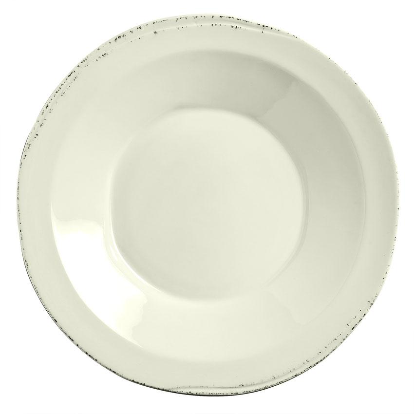 World Tableware FH-525 30-oz Farmhouse Pasta Bowl - Porcelain, Cream White