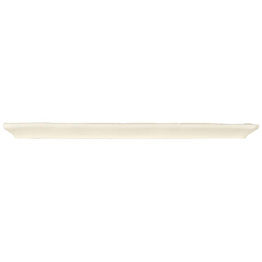 "World Tableware FH-529 Rectangular Tray - Ceramic, Cream White, 16 x 5-3/4"""