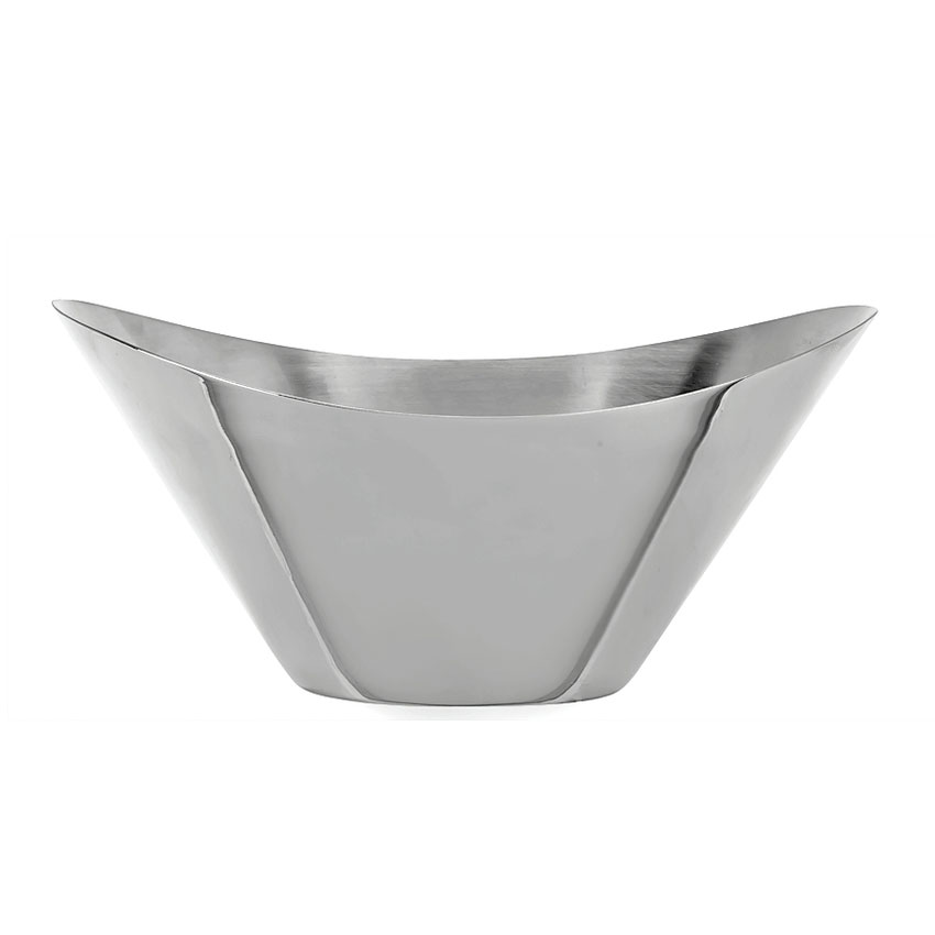 World Tableware IB-1 10-oz Infinity Bowl, Polished Stainless