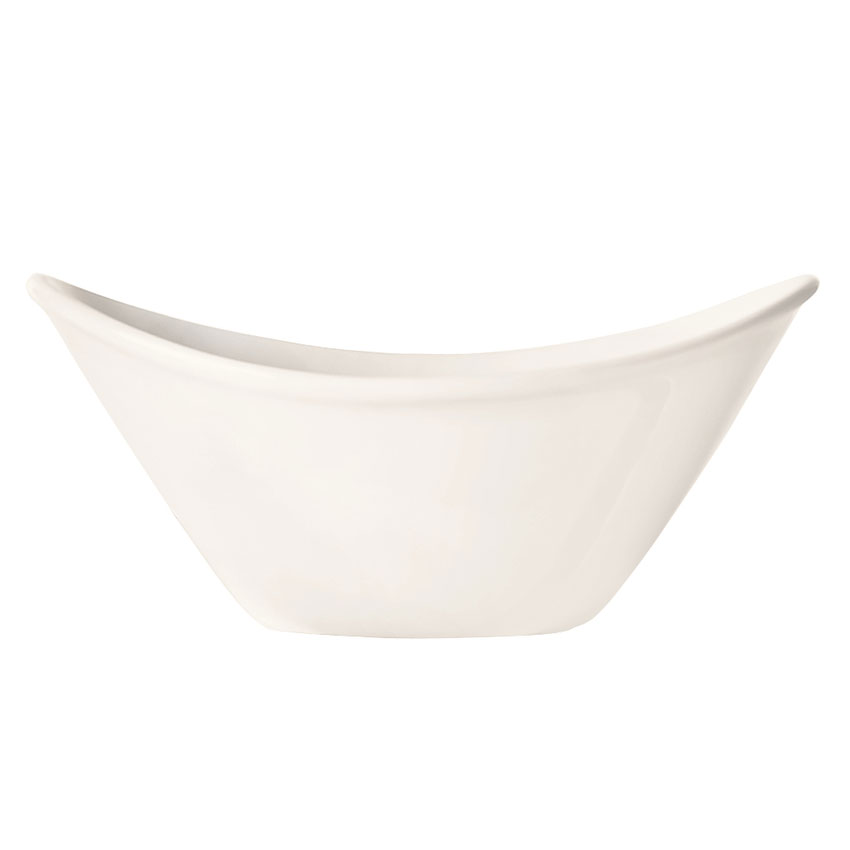 World Tableware INF-100 7-oz Porcelain Bowl, Bright White, Infinity