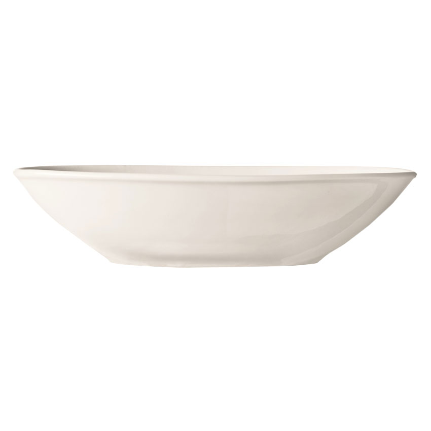 World Tableware INF-200 21-oz Porcelain Bowl, Bright White, Infinity