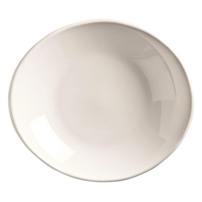 World Tableware INF-250 30-oz Porcelain Pasta Soup Bowl, Bright White, Infinity