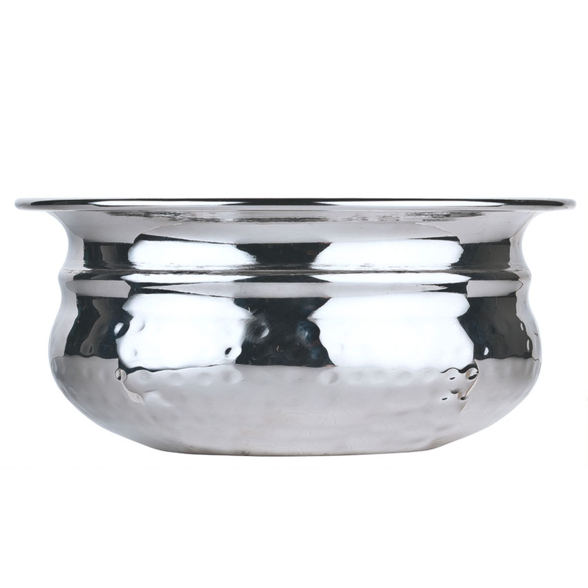 World Tableware PBB-5 14-oz Round Pot Belly Bowl, Stainless Steel