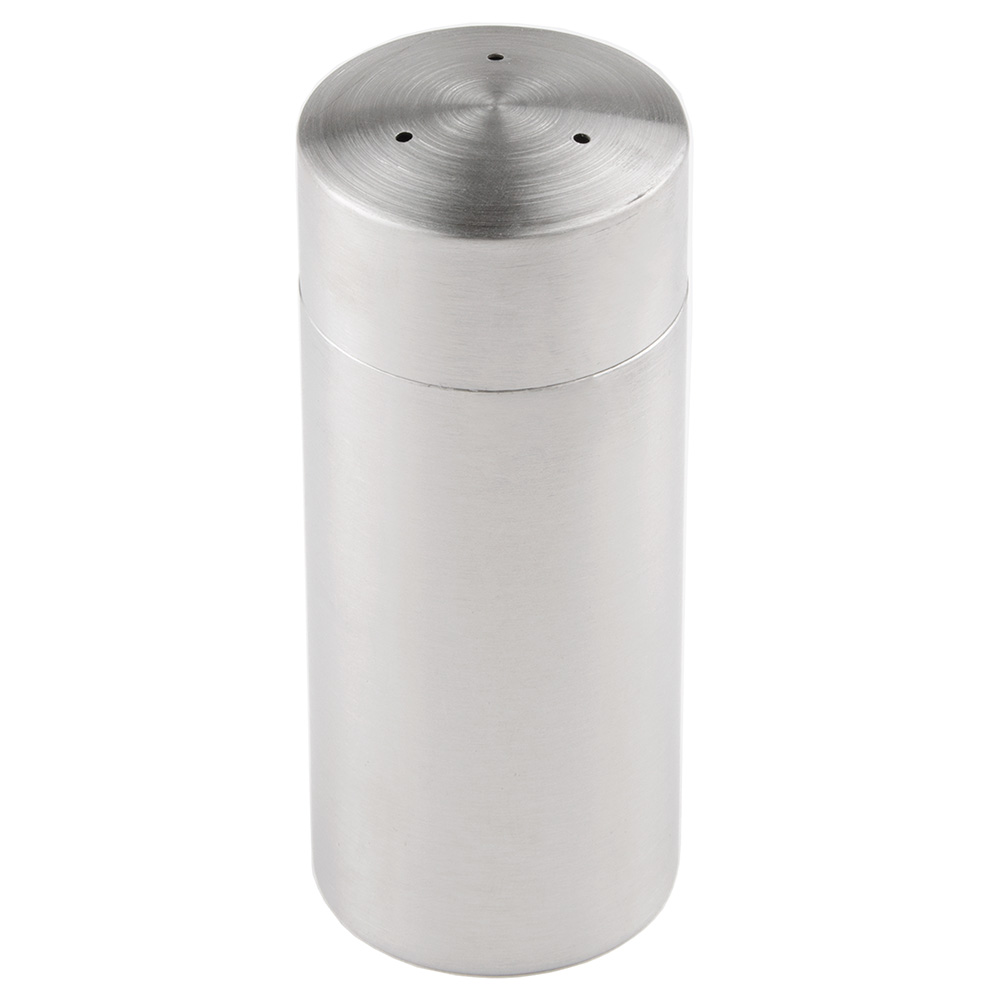 "World Tableware PS-100 4.5"" Pepper Shaker w/ Metal Lid, Round"