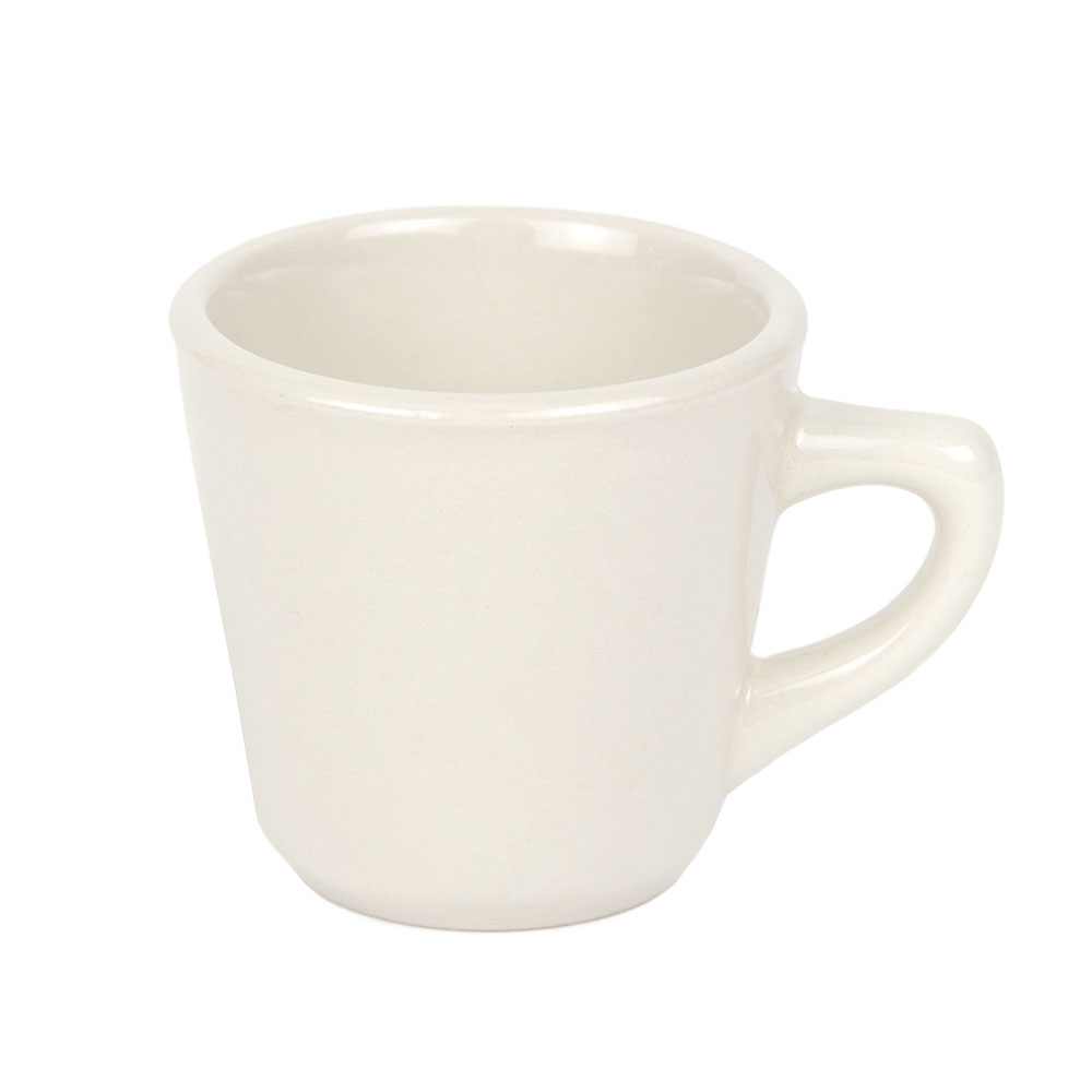 World Tableware PWC-1 Cream White Rolled Edge Cup, Princess Ultima, Round