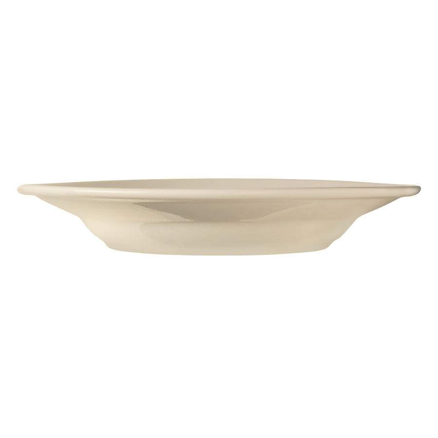 World Tableware PWC-39 Cream White Rolled Edge Pasta Bowl, Princess Ultima, Round