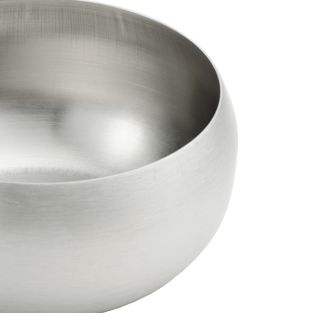World Tableware RB-1 7-oz Rice Bowl, Stainless