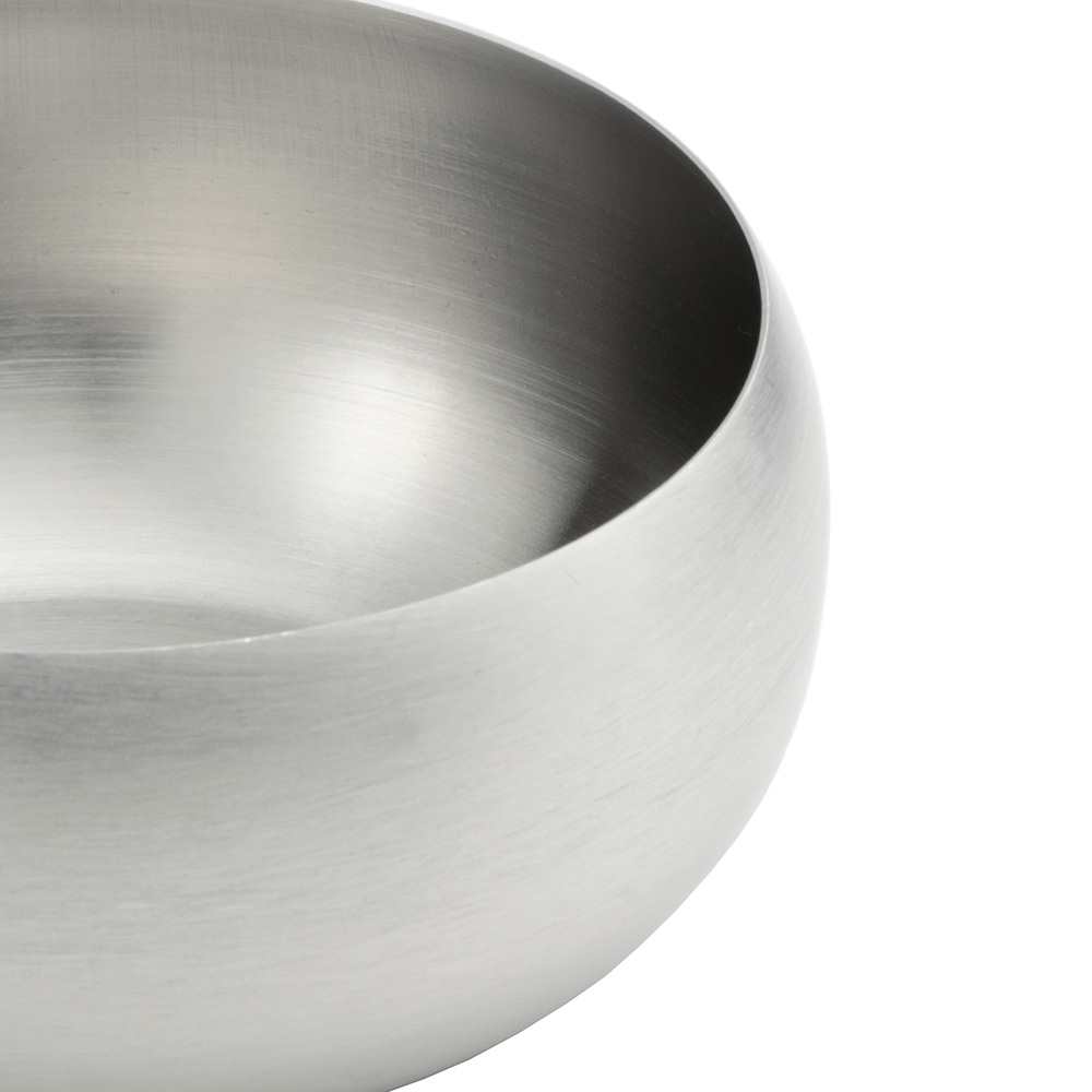 World Tableware RB-2 12-oz Rice Bowl, Stainless