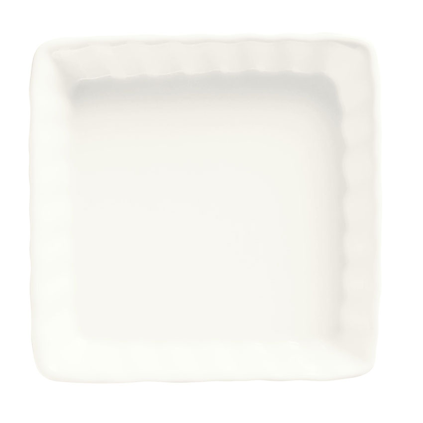 World Tableware SCB-006 Square Creme Brulee, Bright White
