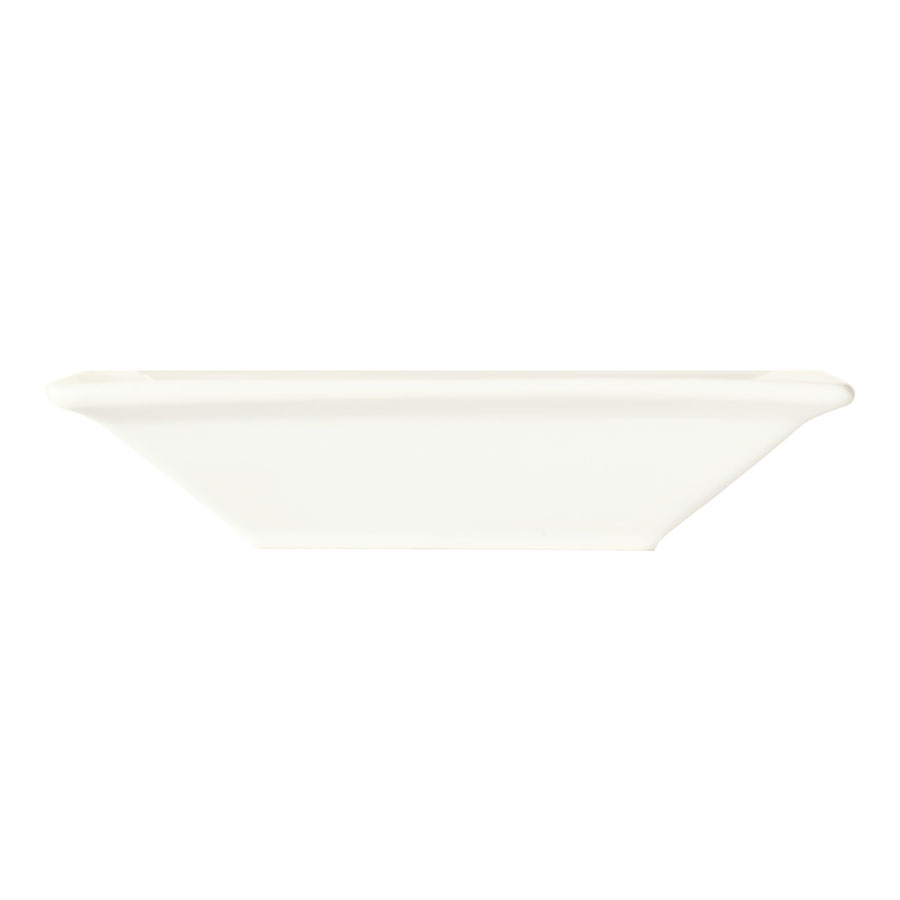 "World Tableware SL-12 7"" Square Porcelain Grapefruit Bowl w/ 12-oz Capacity, Porcelana, Slate"