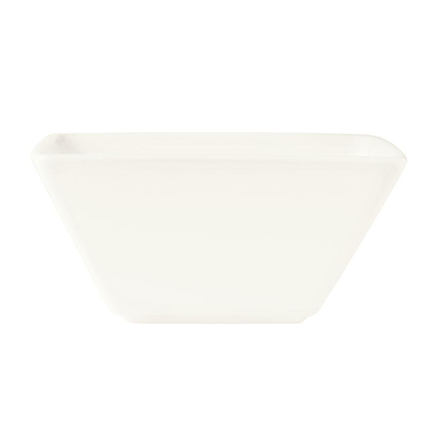 "World Tableware SL-19 5.5"" Square Bowl w/ 20-oz Capacity, Slate"