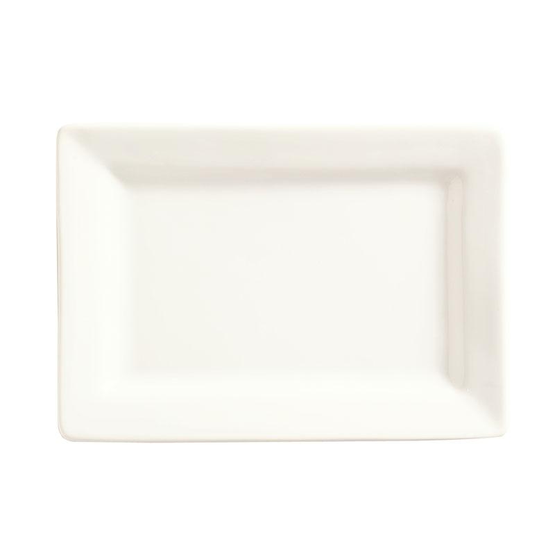 "World Tableware SL-20 Rectangular Porcelain Plate, 8x5.62"", Porcelana, Slate"