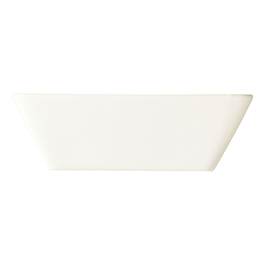"World Tableware SL-50 8"" Square Bowl w/ 50-oz, Slate"
