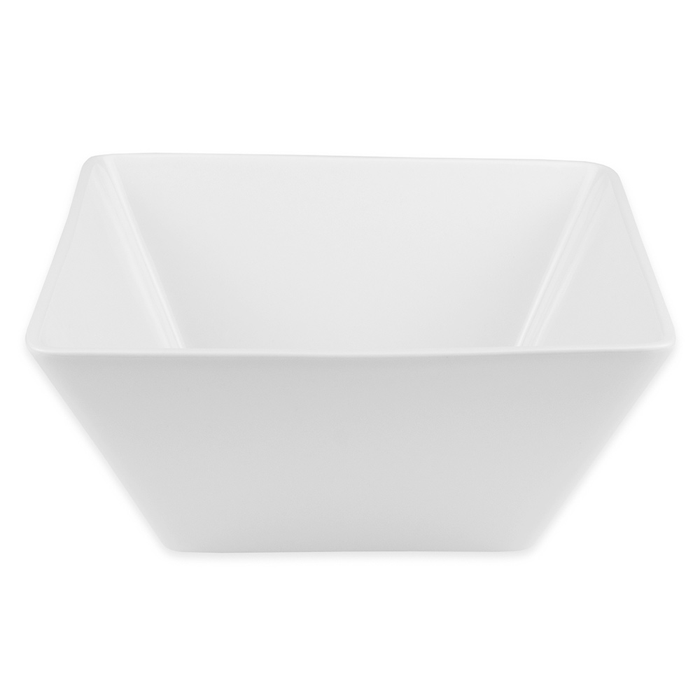 "World Tableware SL-99 9.25"" Square Bowl w/ 100-oz Capacity, Slate"
