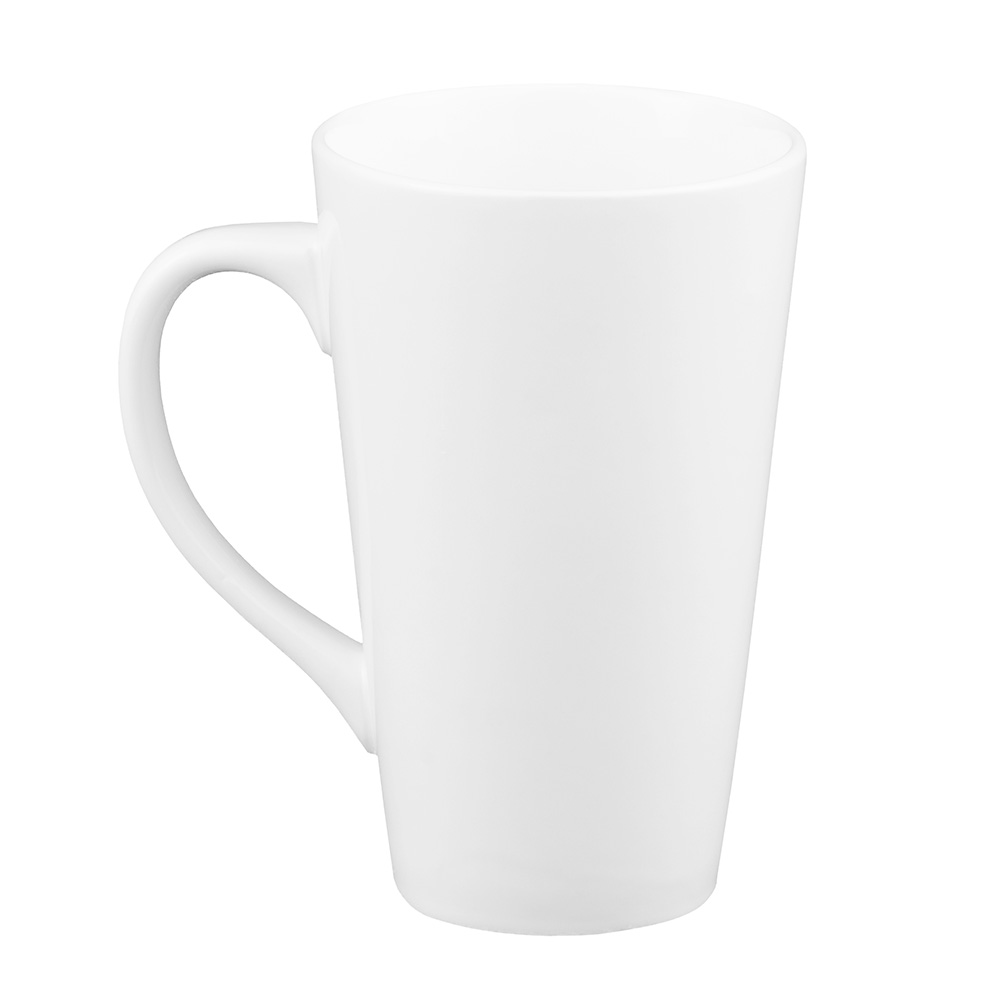 World Tableware TBM14 14-oz Tall Bistro Mug, White