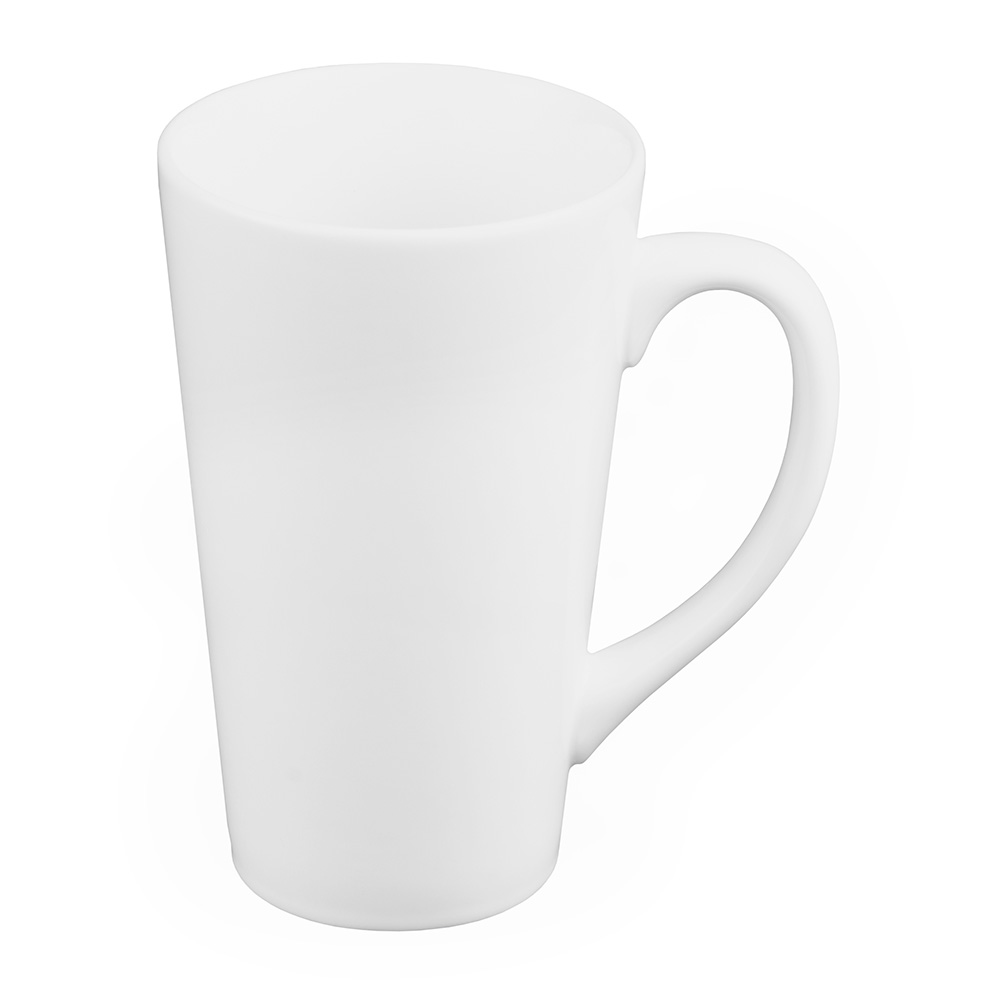 World Tableware TBM17 16-oz Tall Bistro Mug, White