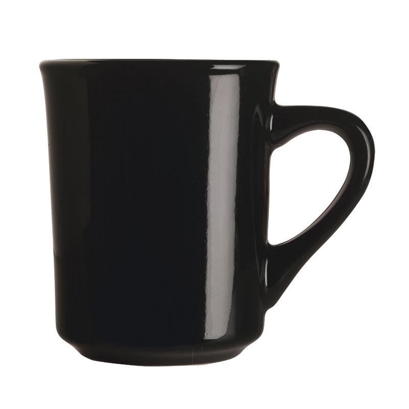 World Tableware TM-8-BL 8-1/2-oz Tiara Mug - Black