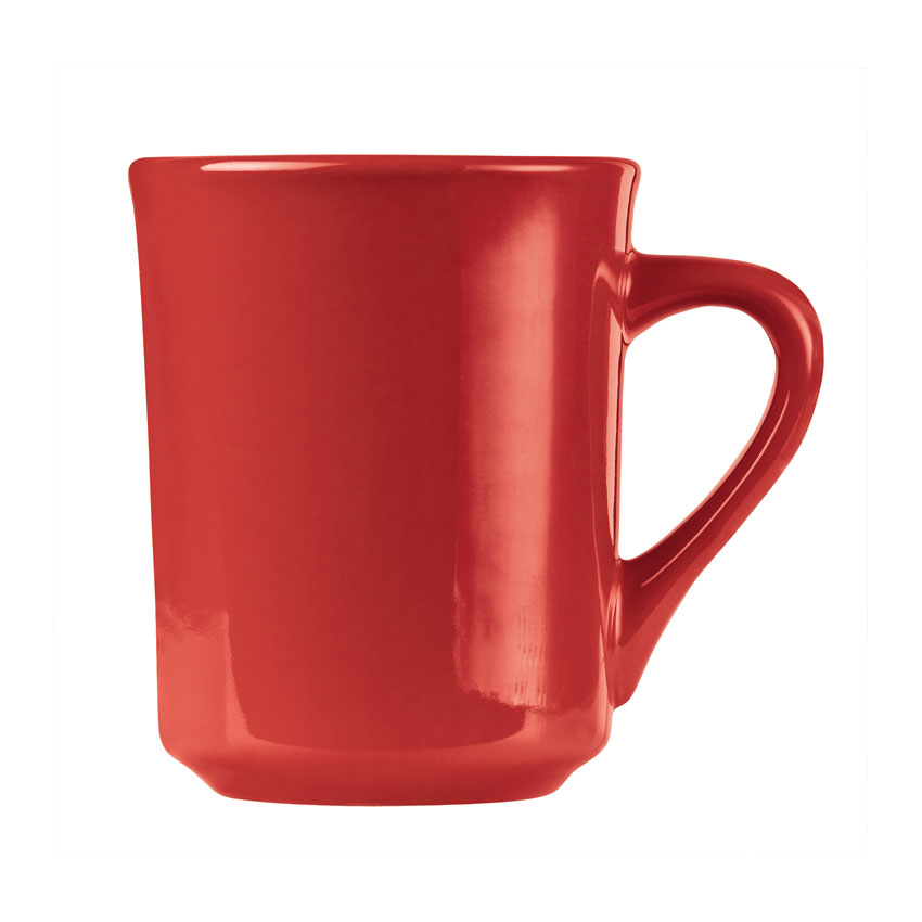 World Tableware TM-8-R 8.5-oz Mug, Red, Tiara, Montego Bay