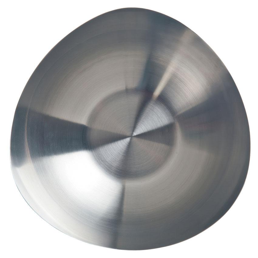"World Tableware TTB-5 5.5"" Round Tri Tip Bowl w/ 16-oz Capacity - Stainless"